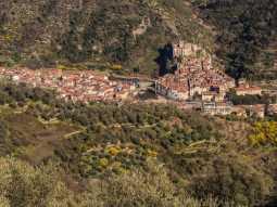 Okolice, wnętrze Ligurii