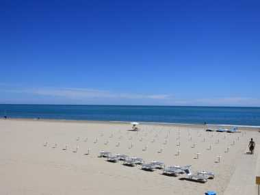 Tortoreto Lido: promenade and beach