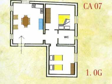 BOLGHERI (апартамент, от 4 до 6 человека)