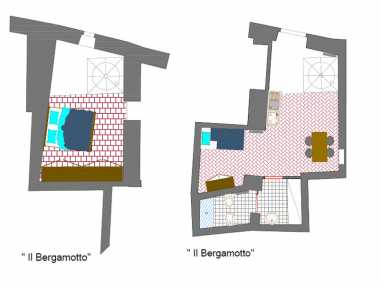 Il Bergamotto (апартамент, 4 человека)
