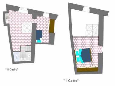 IL CEDRO (апартамент, 4 человека)