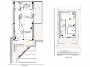 Duplex Sea View Suite (апартамент типа ночлег и завтрак, от 4 до 6 человека)