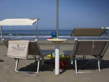 Strand und Pools