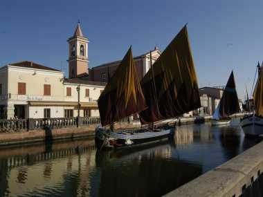 Der Kanalhafen Leonardo da Vinci
