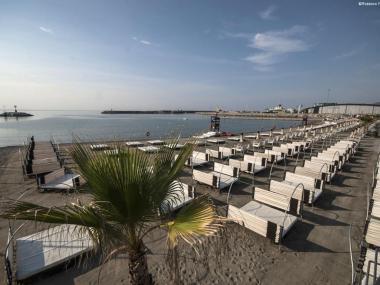 Marina Beach Loano