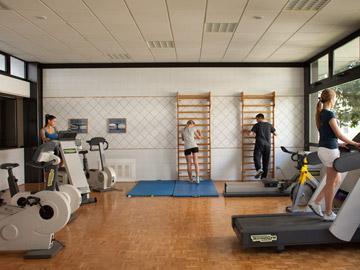 Гостиницы и базы отдыха с фитнес-центрами